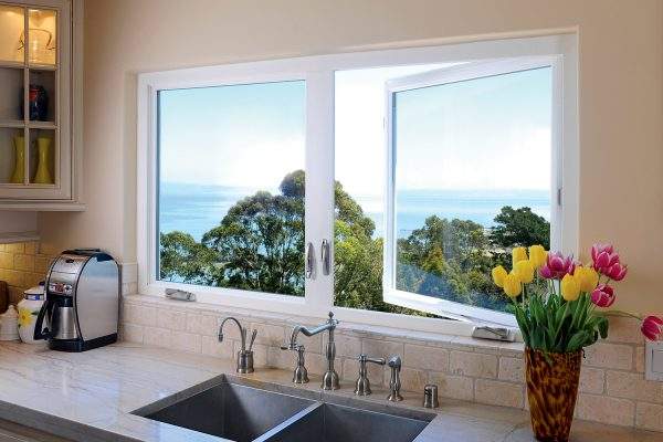 Simonton Casement Window in Kitchen