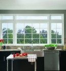 Simonton Casement Windows in Kitchen