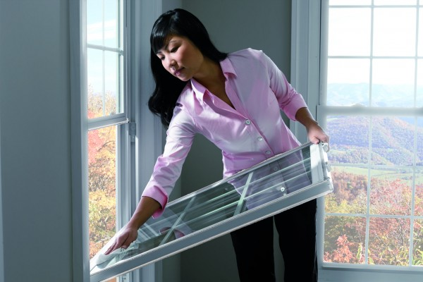 Cleaning Simonton Double Hung Windows