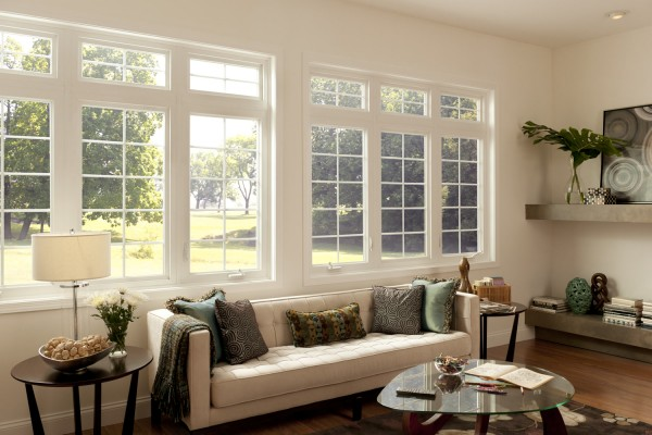 Simonton Impressions Casement Window in Living Room
