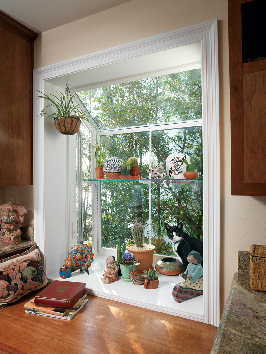 Garden window decorating ideas to brighten up your home for Garden window