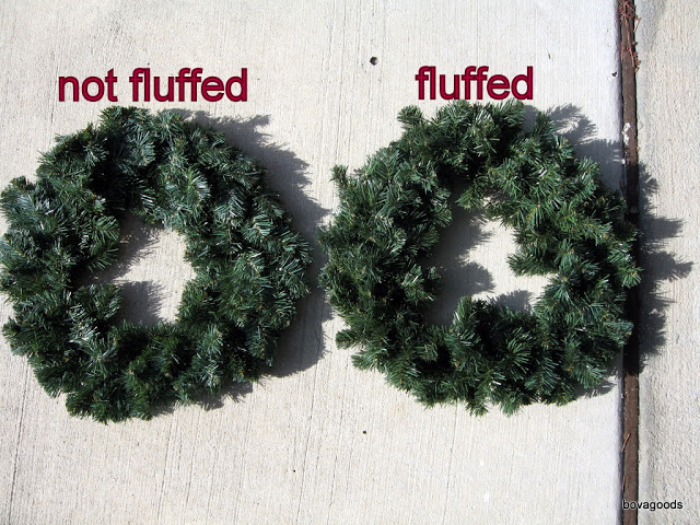 How to Hang Wreaths from Vinyl Windows