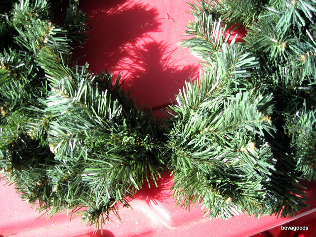 Separate Branches on Wreath