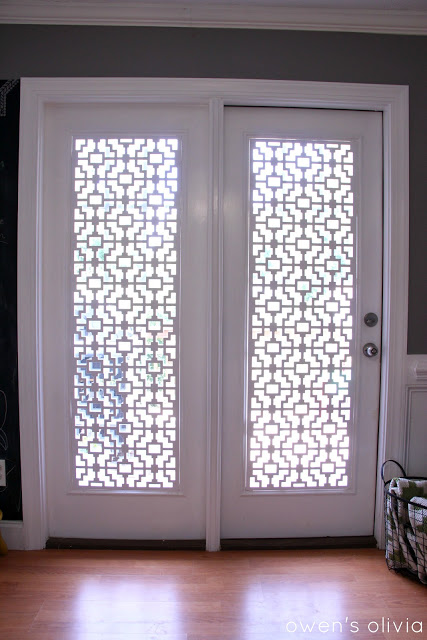 DIY Patio Door Window Treatments