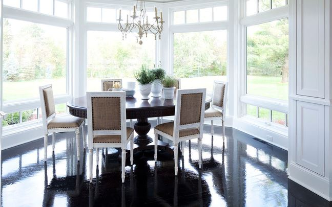 Floor to ceiling bay window home design for Floor to ceiling bay window