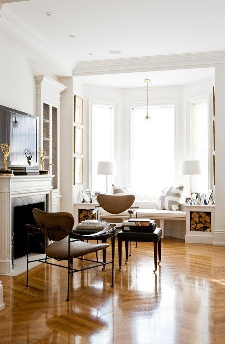 Why should you have a bay window? Bay windows let in lots of light.