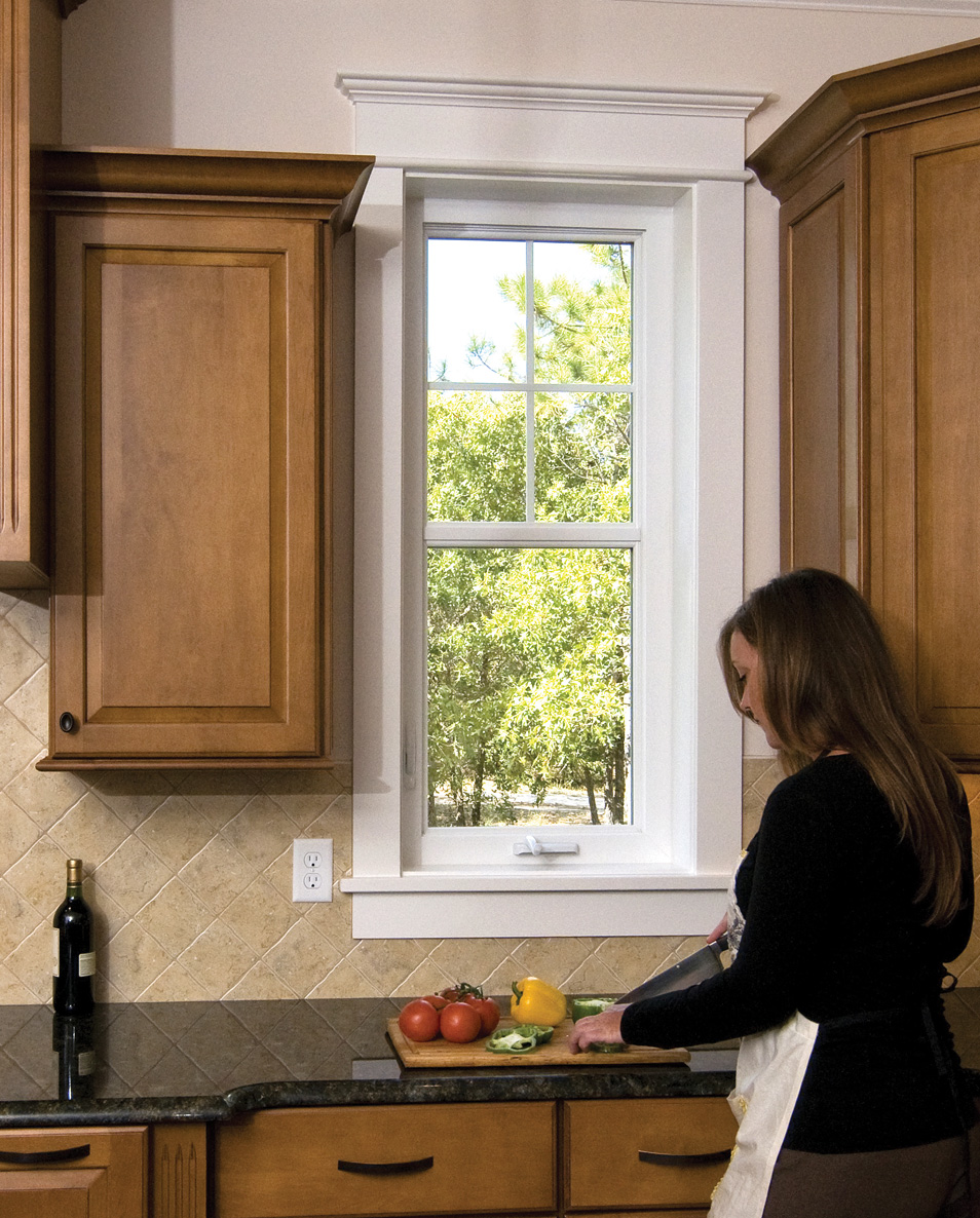 Colonial Casement Windows Look Like Double Hung Windows