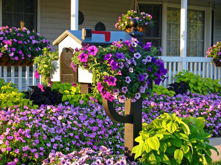 Upgrading your mailbox will give any home a curb appeal boost.