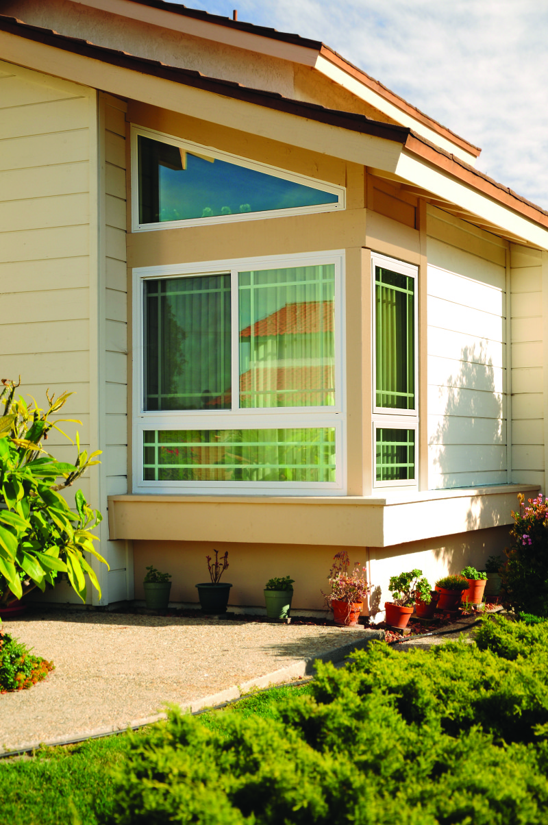Uncategorized exterior residential windows - Exterior Picture Window With Grids