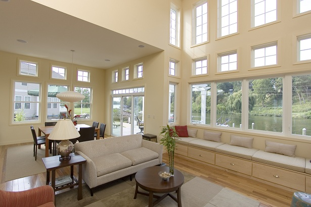 Energy efficient windows shrink your carbon footprint.