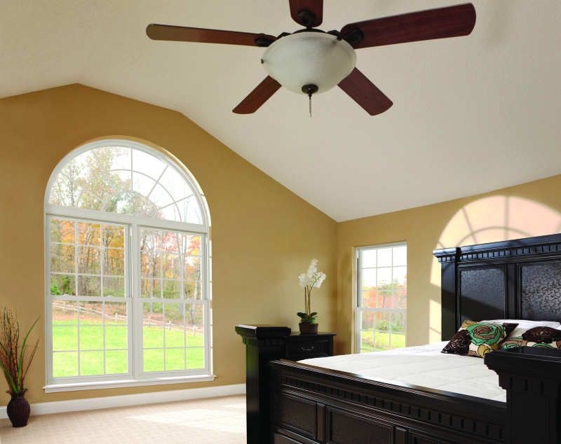 Window treatment ideas for arched windows.