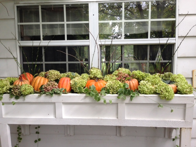 Fall Window Decorations that Add Curb Appeal