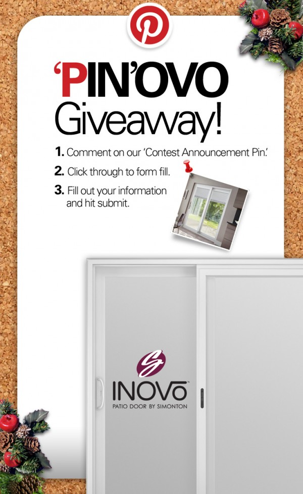 Inovo Patio Door Sweepstakes