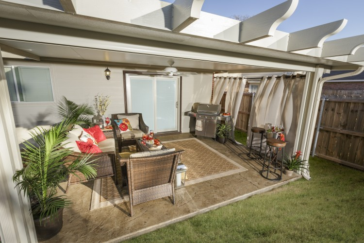 Check out this amazing Fort Worth patio makeover