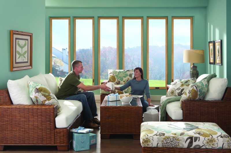 Casement windows are great for any room in your home.