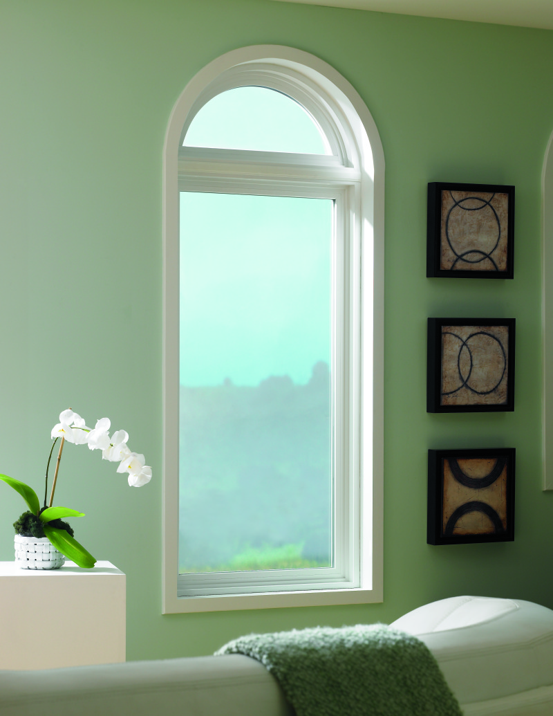 Arched window ideas for every room in your home the for Arch top windows