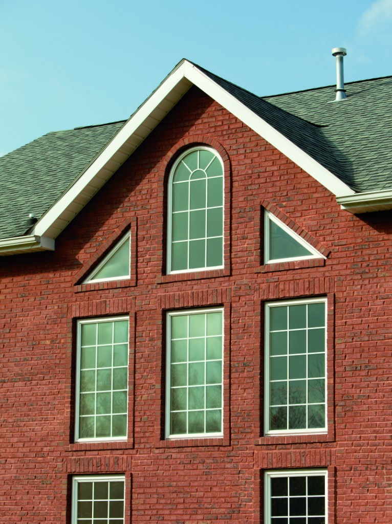 While fixed arched windows are low maintenance and let a lot of light in, they do lack ventilation.