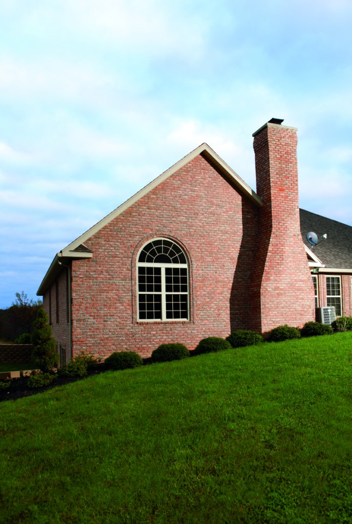 Arched windows can be purchased as double hung or casement windows.