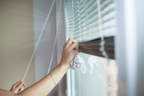 How to clean blinds and shutters. Read more here.