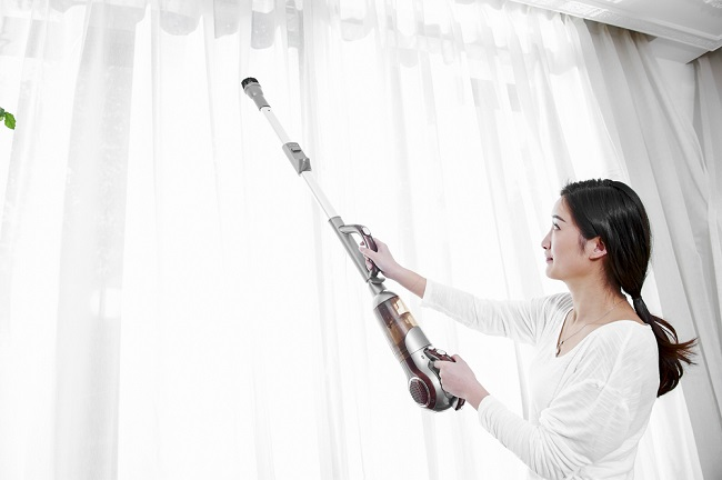 How to clean window treatments. Read more here.