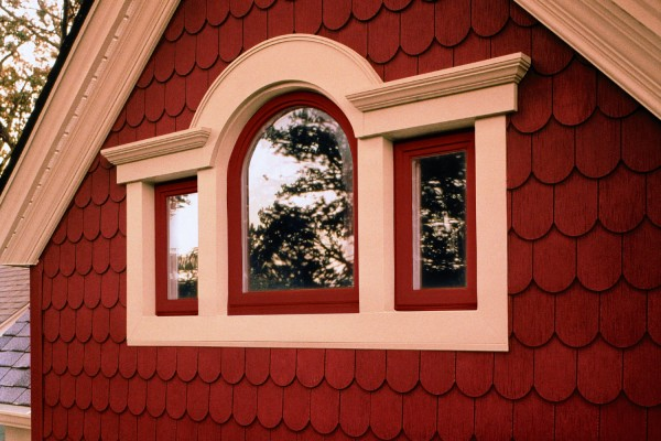 simonton windows dealers doors exterior view of simonton brick colored house with geometric window specialty windows doors