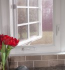 Simonton Casement Window in Contemporary Kitchen