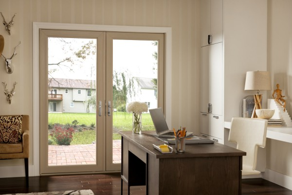 Simonton Swinging Patio Door in office