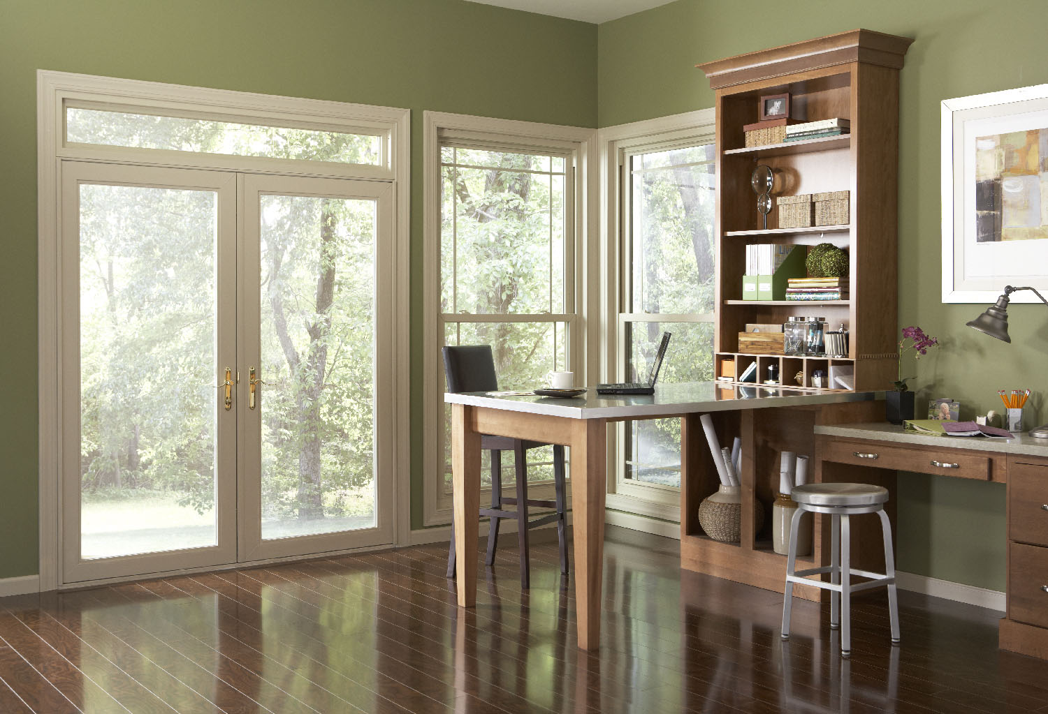 Modern Office Escape Route Simonton Windows Amp Doors