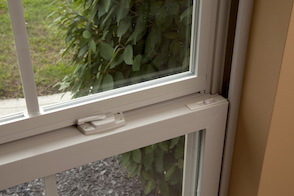 Simonton Single Hung Window Close Up View