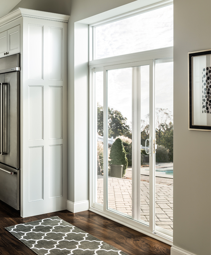 Gallery archive simonton windows doors for Sliding glass door to french door