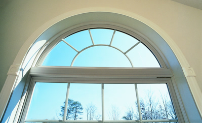 Simonton vinyl replacement geometric window