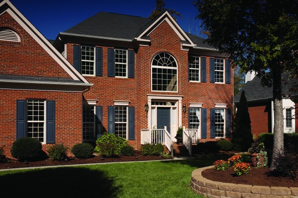 Simonton Single Hung Windows Exterior House
