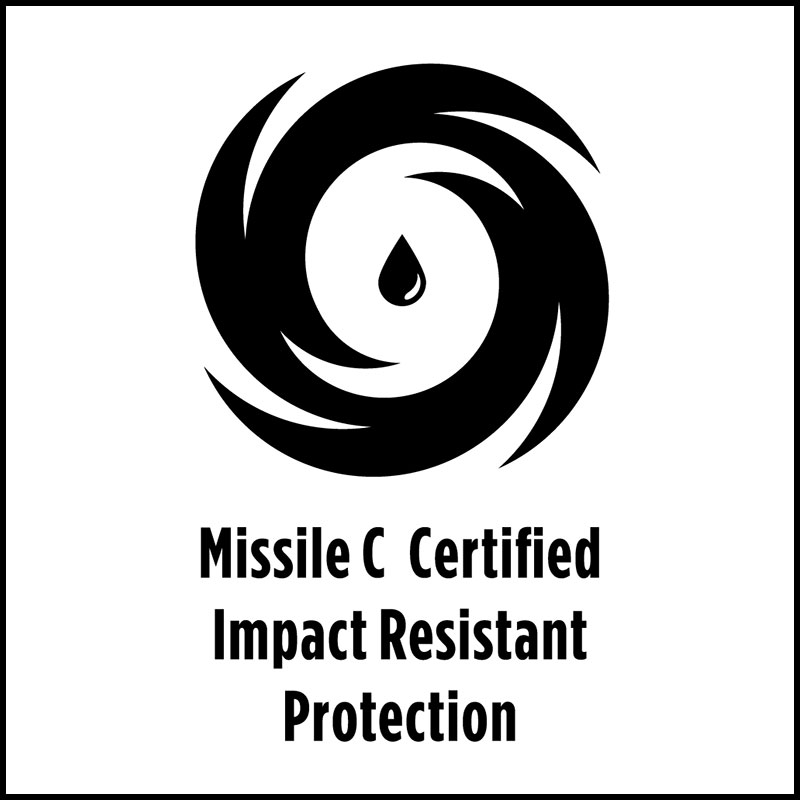 Missile C Certified Impact Resistant Protections