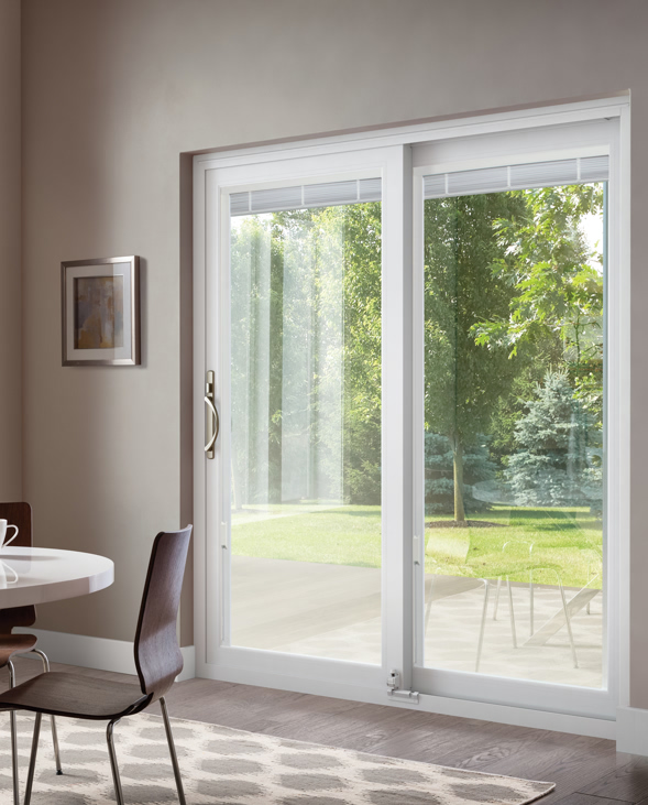 door patio. This Patio Door Includes: INOVO_Blinds_Opened L